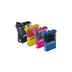 PACK 4 COLORES LC-600XL