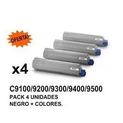 OKI C9100 / 9200 PACK 4