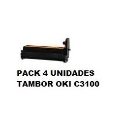 OKI TAMBOR C3100 PACK 4