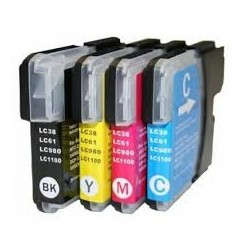 PACK 4 COLORES LC-980/LC-1100
