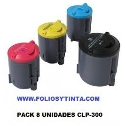 SAMSUNG CLP300 PACK 8