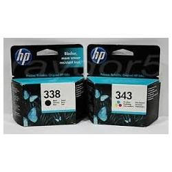 HP 338+343 PACK ORIGINAL