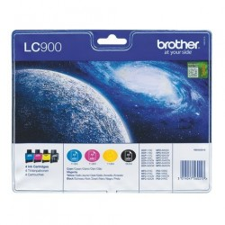 BROTHER LC900 ORIGINAL PACK4