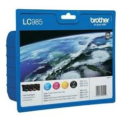 BROTHER LC985 PACK4 ORIGINAL