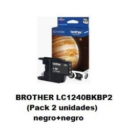 BROTHER LC1240BK PACK ORIGINAL