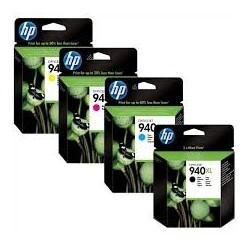 HP 940XL PACK 4 ORIGINAL