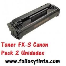 TONER GENÉRICO FX3 PACK 2