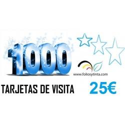 SUPER OFERTA 1.000 TARJETAS