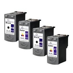 CANON PG40-CL41 PACK 4