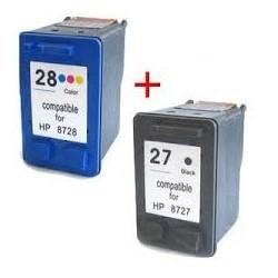 HP 27 XL-HP 28 XL