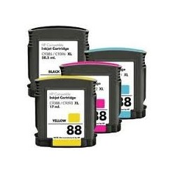 HP 88 XL PACK 4 COLORES