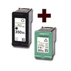 HP 350XL-HP 351XL PACK 2