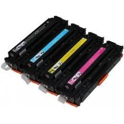 PACK 4 HP CF210/1/2/3 COMPATIBLE