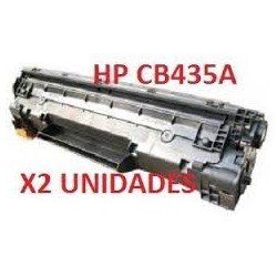 HP CB435A NEGRO PACK 2