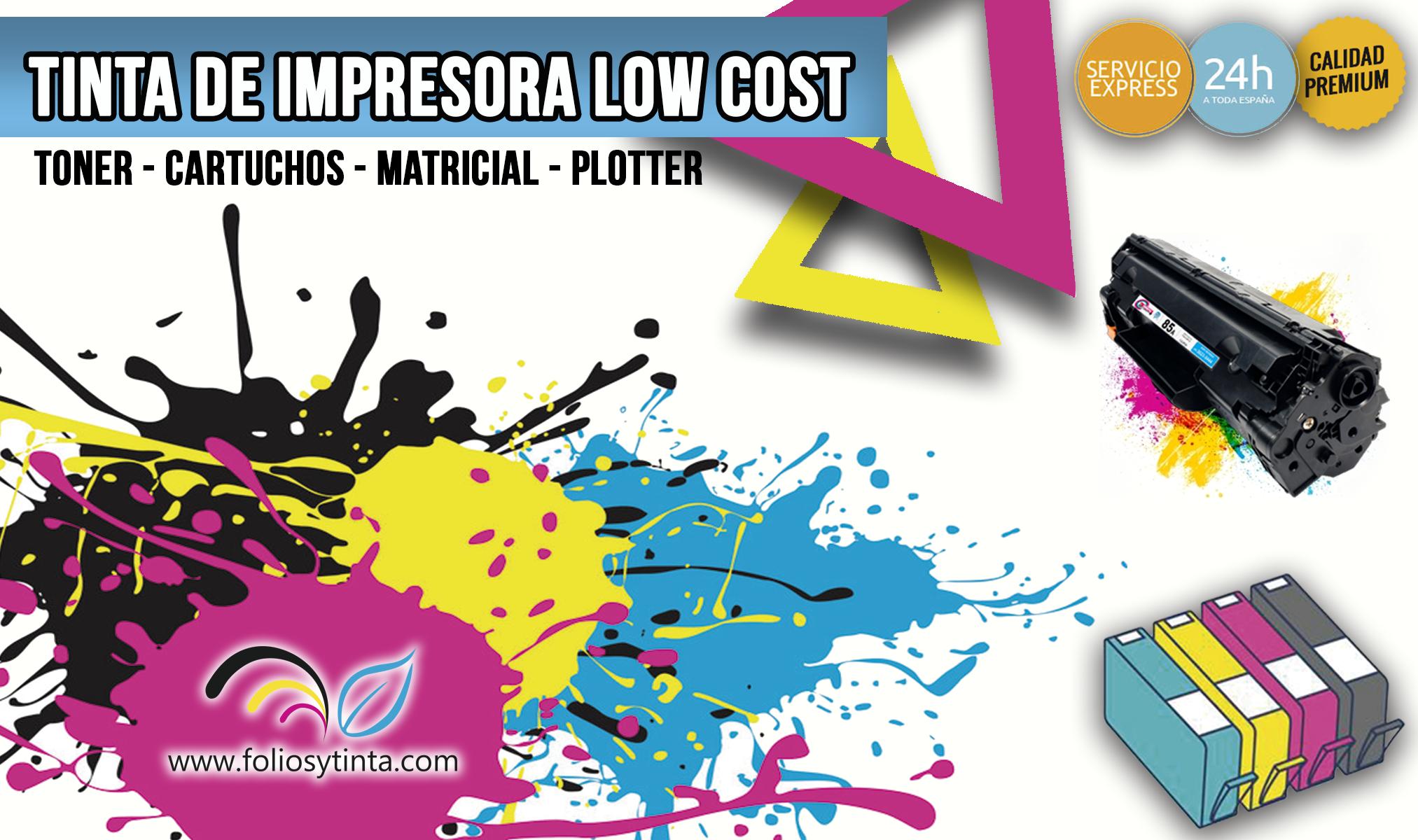 TINTA DE IMPRESORA LOW COST
